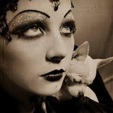 silent v makeup by vorfas flapper makeup1920s