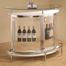 contemporary home bar furniture. Coaster Bar Units And Tables Contemporary Unit With Clear Acrylic Front Home Furniture N