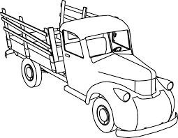 Pickup truck coloring pages best pick up truck coloring pages fresh