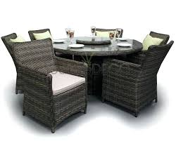 full size of round rattan garden table and 6 chairs seater dining furniture set brown