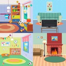 Design Home Interiors Set Best Inspiration Design