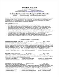 General Manager Resume Summary Examples