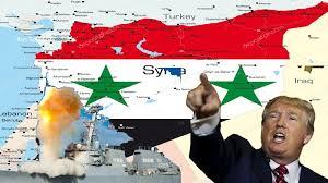 Image result for نخست، حمله شیمیایی به مردم توسط تروریستها سپس، حمله به ارتش سوریه از سوی آمریکا