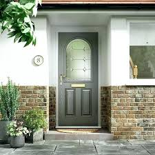 exterior wood doors with glass panels front door styles exterior wood doors grey entry with frosted exterior wood doors with glass panels