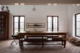dining table long narrow. long narrow dining table room rustic with antlers bench seating brick. image by: jean longpr