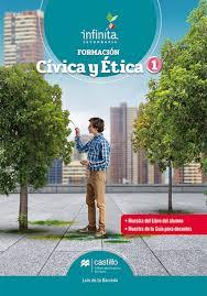 Revisar los artículos constitucionales del 1º al 29 y del 49 al 79 del libro conoce nuestra. Formacion Civica Y Etica 1 Ediciones Castillo