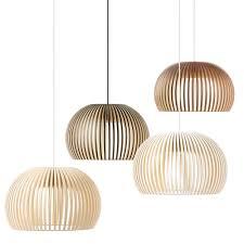 finnish traditional pendant light solid birch