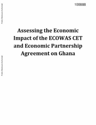 Assessing The Economic Impact Of The Ecowas Cet And Economic ...