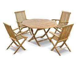 set of folding chairs. Lymington Teak Outdoor Patio Set - Folding Garden Table 1.2m \u0026 4 Dining Chairs Of