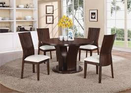 modern round kitchen table beautiful round black dining table decor