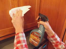 amazing how to clean old kitchen cabinets of cleaning grease off