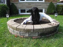 Yard Decor for Halloween: Scary Well from the Movie