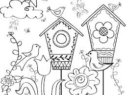 Printable Spring Coloring Pages Free Spring Coloring Pages Spring