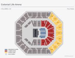 Bridgestone Arena Seating Chart Drake Seating Chart View Seating Chart Colonial Life Arena