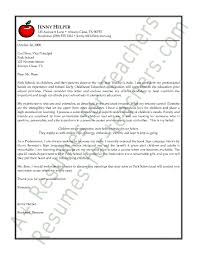 cover letters for teachers sample cover letter for teacher aide position korest