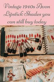 Vintage Avon Lipstick Shades You Can Still Buy Today