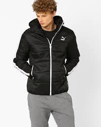 Buy Puma Men Black T7 Padded Regular Fit Hoodie Jacket | AJIO & Next Adamdwight.com