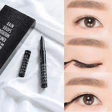 hold live eyeliner does not blooming waterproof big eye makeup sweat lasting liquid beginner students quick