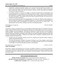 Tax Director Sample Resume Page #2