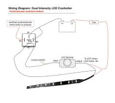 wiring diagram for led lights the wiring diagram motorcycle led tail light wiring diagram diagram wiring diagram