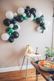 Project Nursery - Modern Jungle First Birthday Party