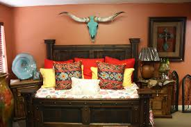 Southwest Bedroom Decor Western Decor Rustic Tables Southwestern Furniture Agave