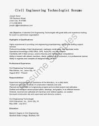 Good Highlights Of Qualifications For Civil Engineer Technologist