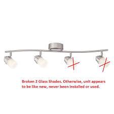 used track lighting. UPC 046335012448 Product Image For Envirolite 3 Ft. Brushed Nickel Led Track Lighting Kit With Used N