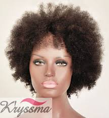 Natural Hair Style Wigs amazon kryssma machine made hair replacement natural real 8655 by stevesalt.us