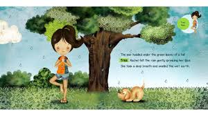 rachel s day in the garden a kids yoga stories audio yoga book for kids you