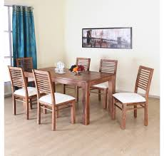 Nilkamal Kitchen Furniture Buy Dortmund 6 Seater Dining Kit Home By Nilkamal New Natural