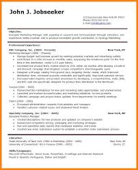 8 Professional Resume Template Word Letter Of Apeal