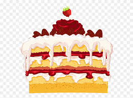 Birthday Cake Clip Art Strawberry Cake Clipart Stunning Free
