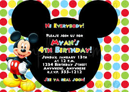 mickey mouse template for invitation com mickey mouse birthday party invitations afoodaffair