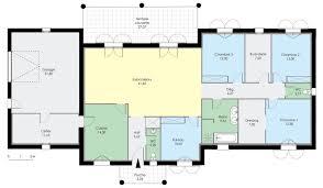 Plan Maison Plain Pied Toit Plat