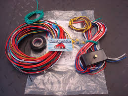 universal harness with fuse box for dune buggy kit car custom s
