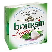 boursin light garlic and fine herbs gournay cheese