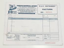 Formatos De Factura Formato Plano Factura Grupo Grenich