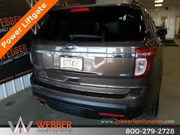 2016 ford explorer limited with alloy wheels