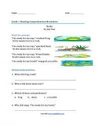 Excel. first grade worksheets reading: Worksheets Printable First ...