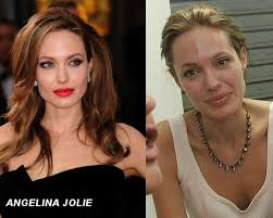 browse through pictures of celebrities without makeup and decide for yourselves whether you like them better or not