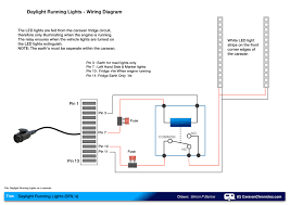 wiring daylight running lights (drl's) on a caravan caravan Renault Clio Rear Light Wiring Diagram daylight running lights on a caravan renault megane rear light wiring diagram