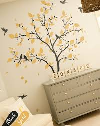 large tree wall decal baby nursery wall