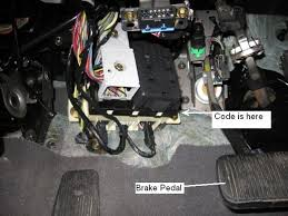 ford f150 anti theft reset vehiclepad ford taurus questions where do i the keyless entry code for