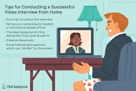 How To Be Successful In A Job Interview Tips For A Successful Video Job Interview