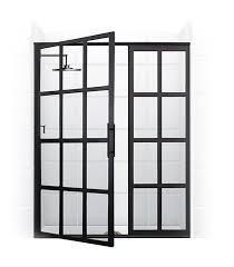 Shower Door shower doors denver photographs : True Divided-Light Swing Door – Coastal Shower Doors