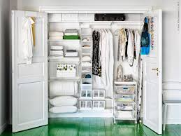 minimalist dressing room with wardrobe closet ikea algot ideas