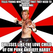 tells young wrestlers that they need to be original dresses like ... via Relatably.com