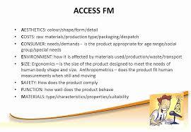 fm full form gcse product design maximising exam success brian russell ppt