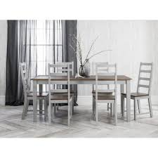 images grey furniture.  Furniture Elegant Dining Room Furniture Solid Wood Table And 6 Chairs Slab  White Fiberglass For 10 Hickory Large High Top Painted Curved Pedestal  With Images Grey